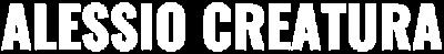 Alessio Creatura Official web site Logo